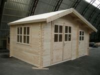 Gartenhaus 34mm Holz Gartenhauser Sams Gartenhaus Shop