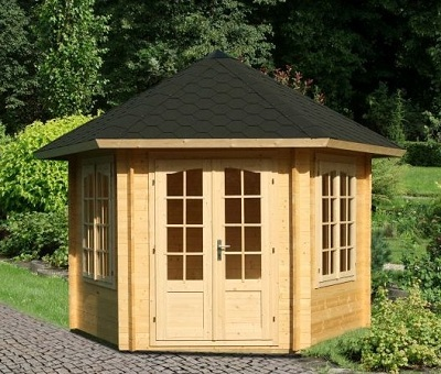gartenhaus pavillon holz my blog. Black Bedroom Furniture Sets. Home Design Ideas