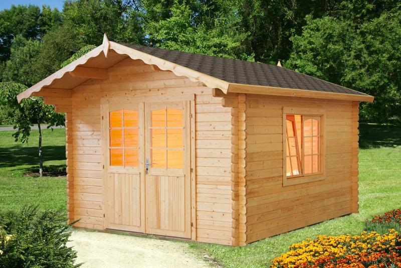 gartenhaus 44mm linas sams gartenhaus shop. Black Bedroom Furniture Sets. Home Design Ideas