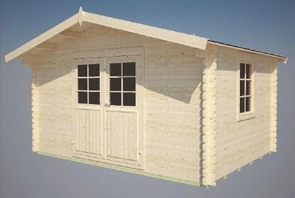 gartenhaus modell rhein sams gartenhaus shop. Black Bedroom Furniture Sets. Home Design Ideas