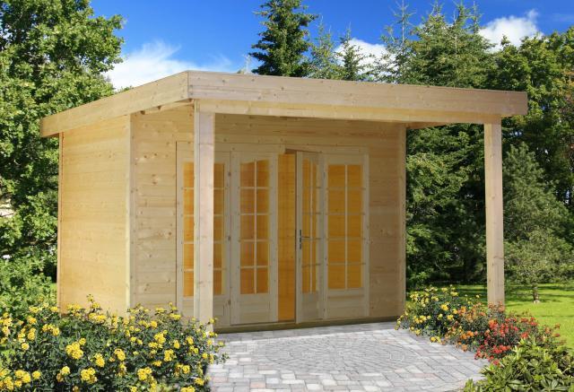 gartenhaus modern maria sams gartenhaus shop. Black Bedroom Furniture Sets. Home Design Ideas