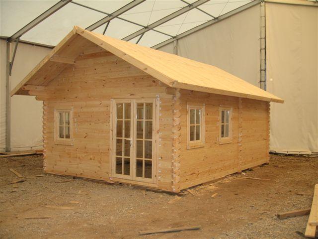 ferienhaus mit schlafboden nora 2 sams gartenhaus shop. Black Bedroom Furniture Sets. Home Design Ideas