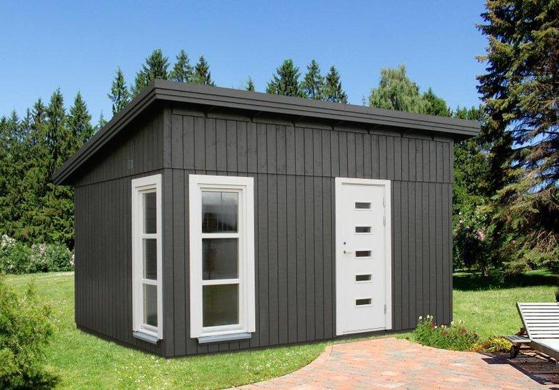 Gartenhaus Modern gartenhaus modern grau sams gartenhaus shop