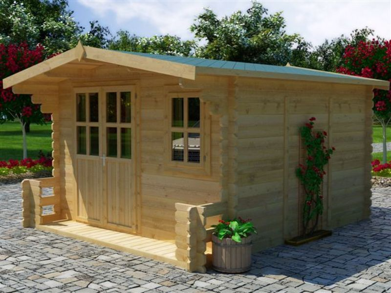 Gartenhaus g nstig sommeraktion sams gartenhaus shop for Outlet case prefabbricate