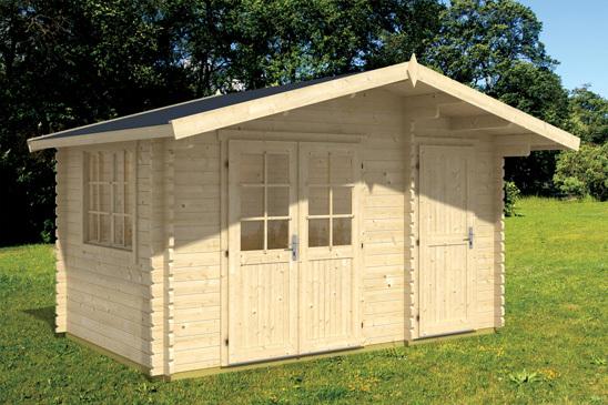 Gartenhaus Holz   Modell Berlin 2   Sams Gartenhaus Shop