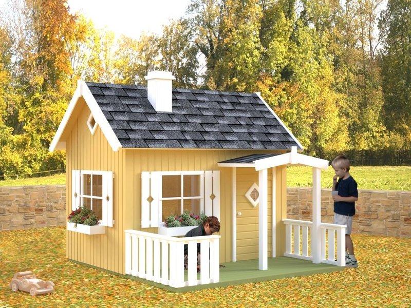Kinderspielhaus Holz Schweden