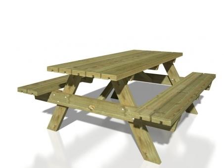 picknicktisch ruby impr gniert sams gartenhaus shop. Black Bedroom Furniture Sets. Home Design Ideas