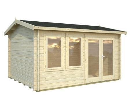 gartenhaus iris 3 90m x 3 00m sams gartenhaus shop. Black Bedroom Furniture Sets. Home Design Ideas