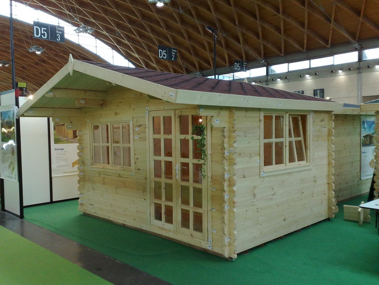 gartenhaus 44mm limburg 3x3m sams gartenhaus shop. Black Bedroom Furniture Sets. Home Design Ideas