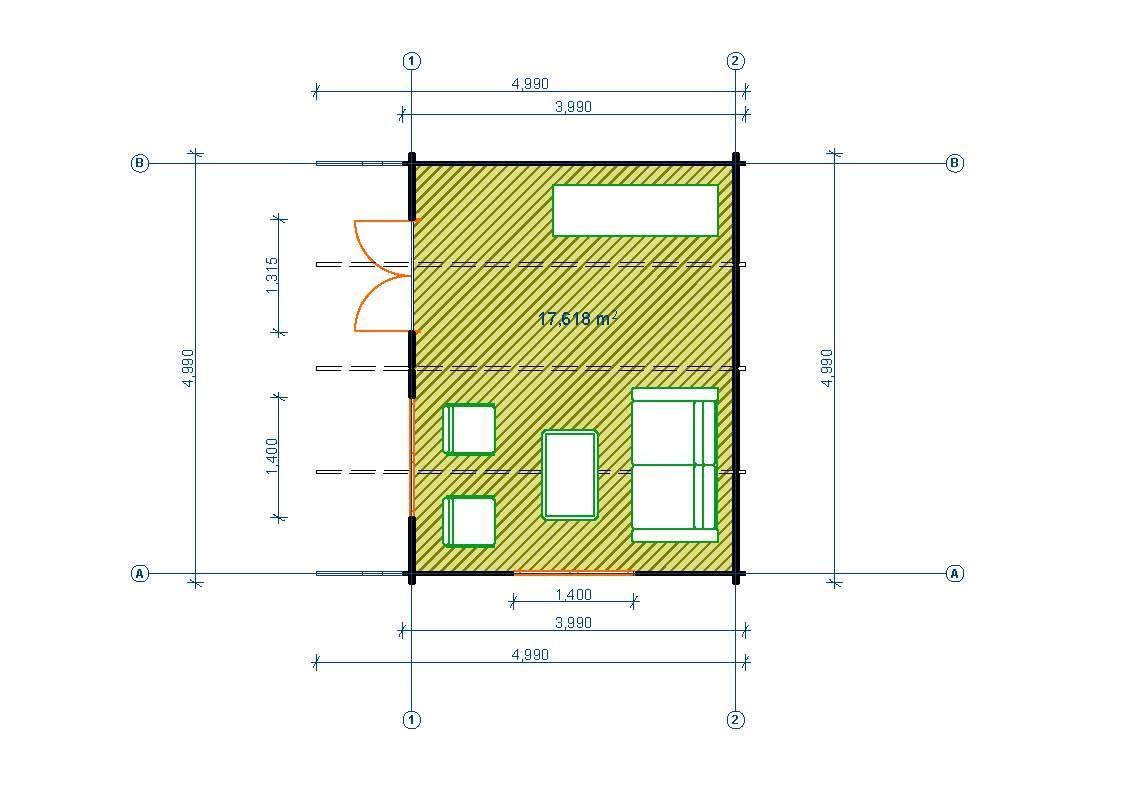 gartenhaus 44mm limburg 5x4m sams gartenhaus shop. Black Bedroom Furniture Sets. Home Design Ideas