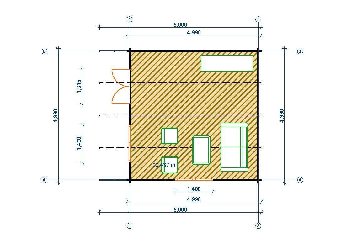 Gartenhaus 5x5m | My blog