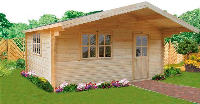 Garden house 44mm Dettelbach 5x5m   Garden House wood Shop