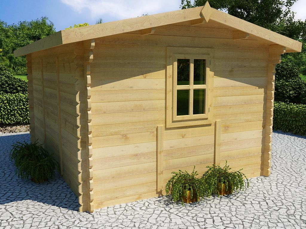 gartenhaus 44 mm romanus 1 sams gartenhaus shop. Black Bedroom Furniture Sets. Home Design Ideas