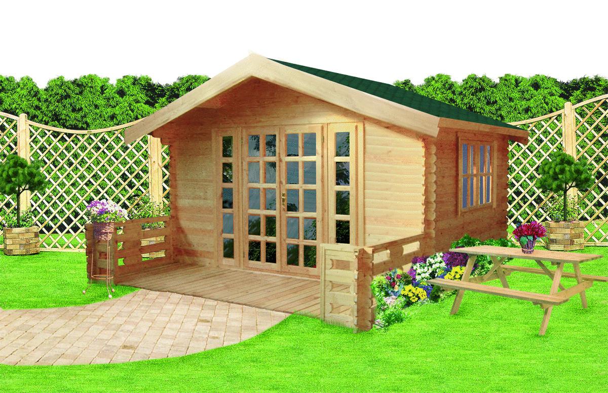 gartenhaus 34 mm breidenbach 2 sams gartenhaus shop. Black Bedroom Furniture Sets. Home Design Ideas