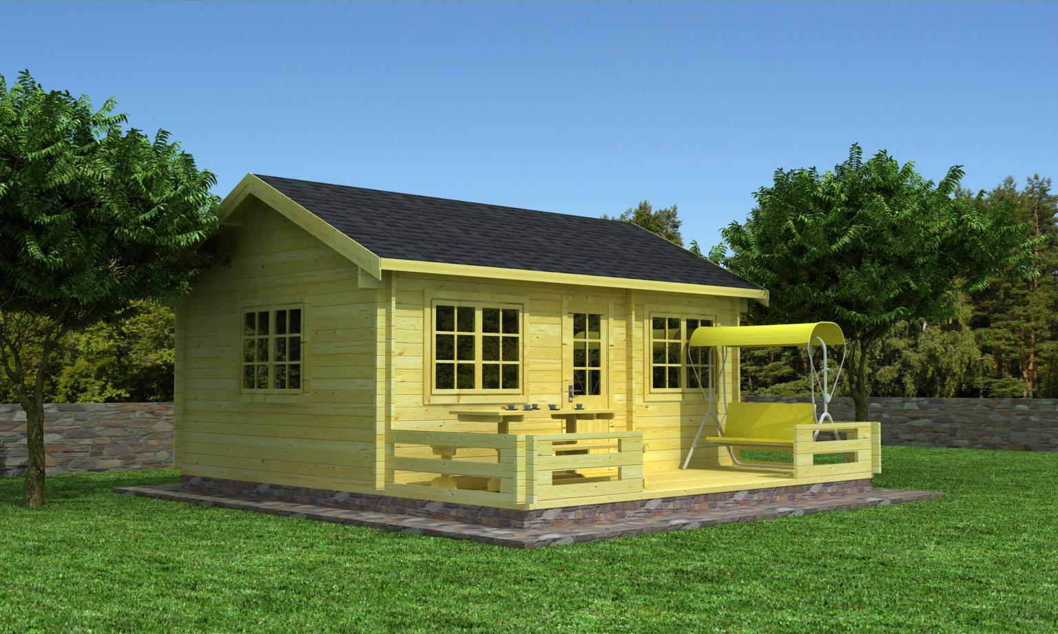 gartenhaus modell gerolstein 44 sams gartenhaus shop. Black Bedroom Furniture Sets. Home Design Ideas