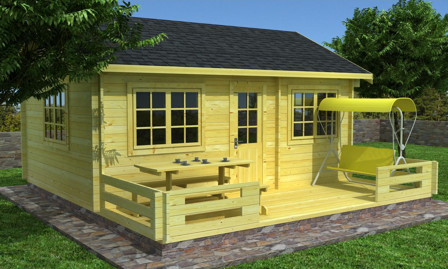 gartenhaus modell gerolstein 70 sams gartenhaus shop. Black Bedroom Furniture Sets. Home Design Ideas