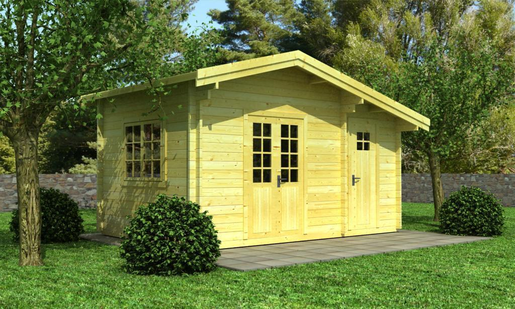 garagen bauen holzgaragen planen sams gartenhaus shop. Black Bedroom Furniture Sets. Home Design Ideas
