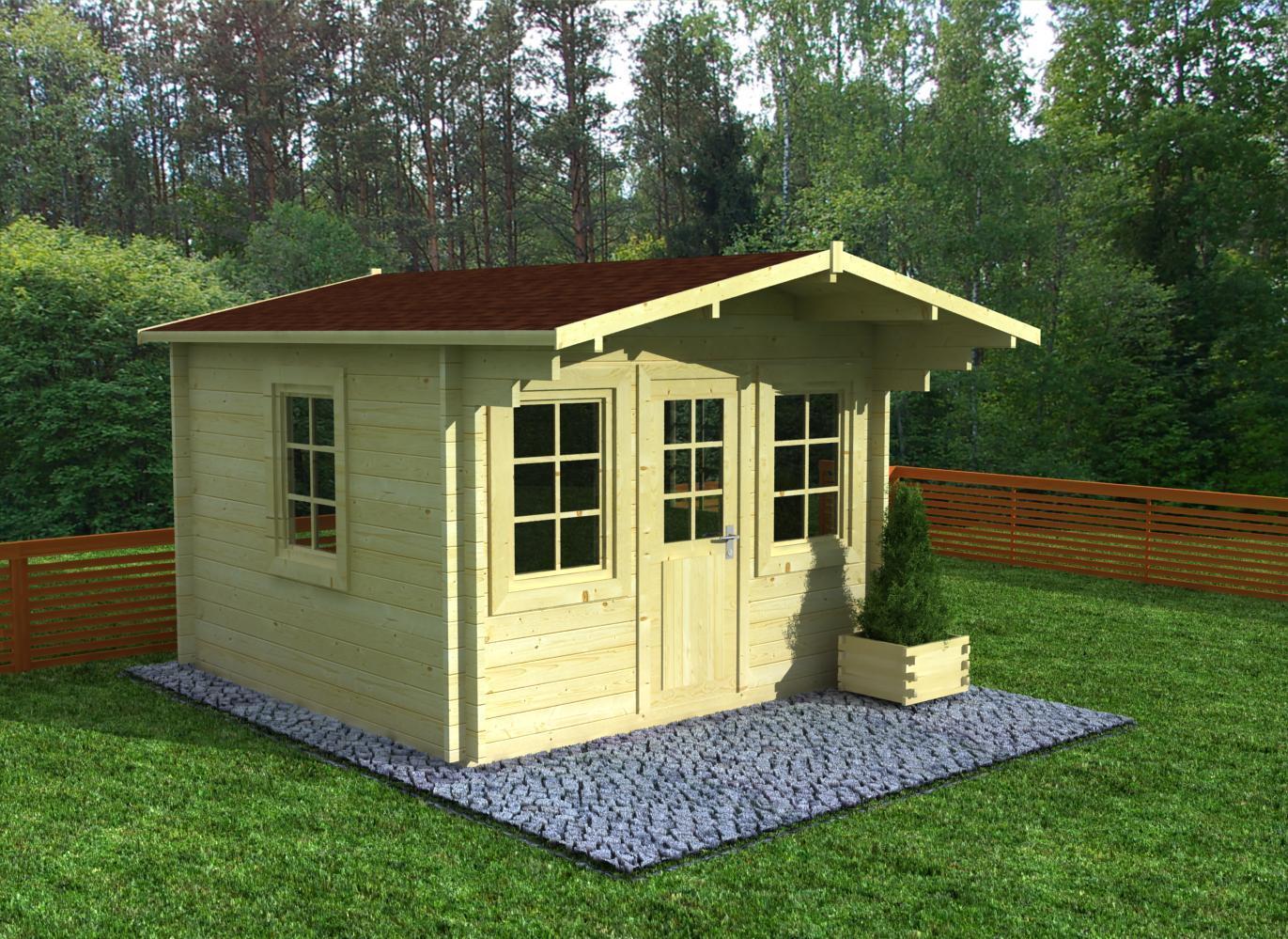 gartenhaus modell flensburg 44 sams gartenhaus shop. Black Bedroom Furniture Sets. Home Design Ideas