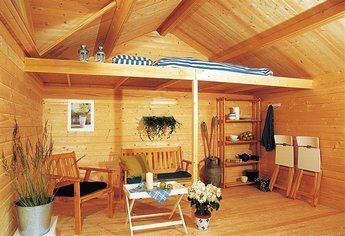 stauraum schlafboden 5m x 1 8m sams gartenhaus shop. Black Bedroom Furniture Sets. Home Design Ideas