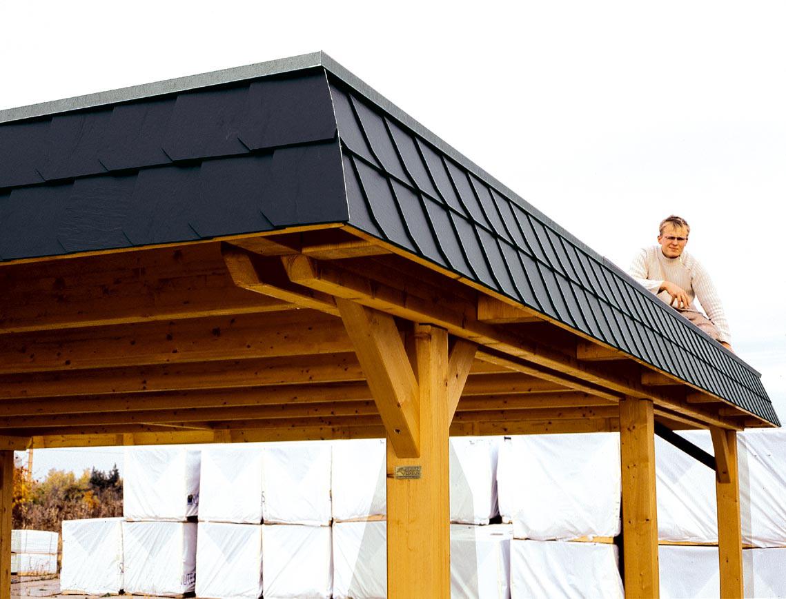 wendland carport mit abstellraum sams gartenhaus shop. Black Bedroom Furniture Sets. Home Design Ideas
