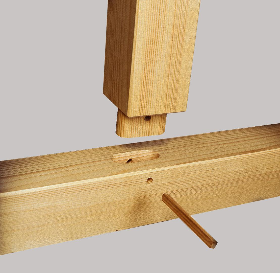 doppelcarport spitzdach holz kvh sams gartenhaus shop. Black Bedroom Furniture Sets. Home Design Ideas