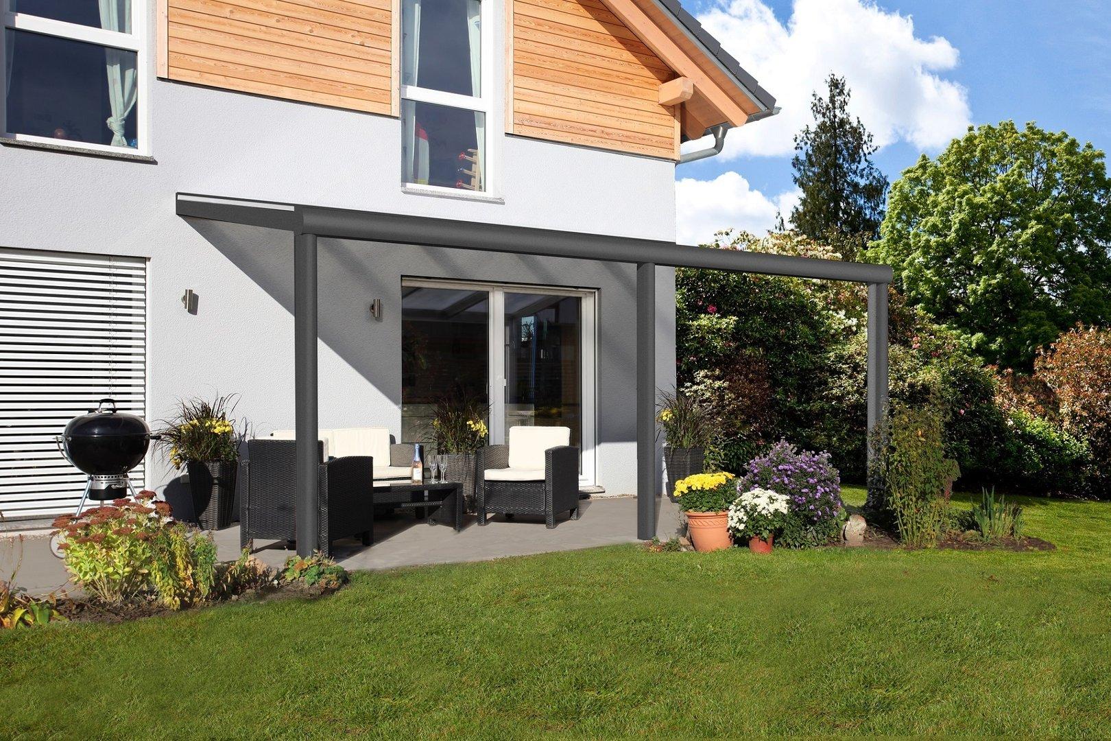 garda 4 terrassen berdachung alu sams gartenhaus shop. Black Bedroom Furniture Sets. Home Design Ideas