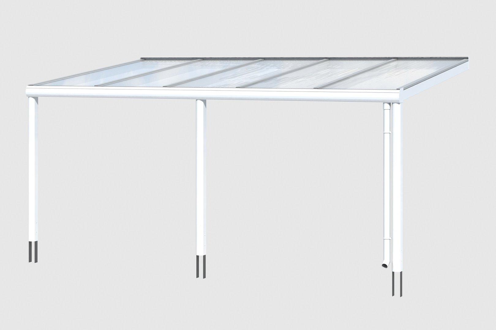 terrassen berdachung garda 5 alu sams gartenhaus shop. Black Bedroom Furniture Sets. Home Design Ideas