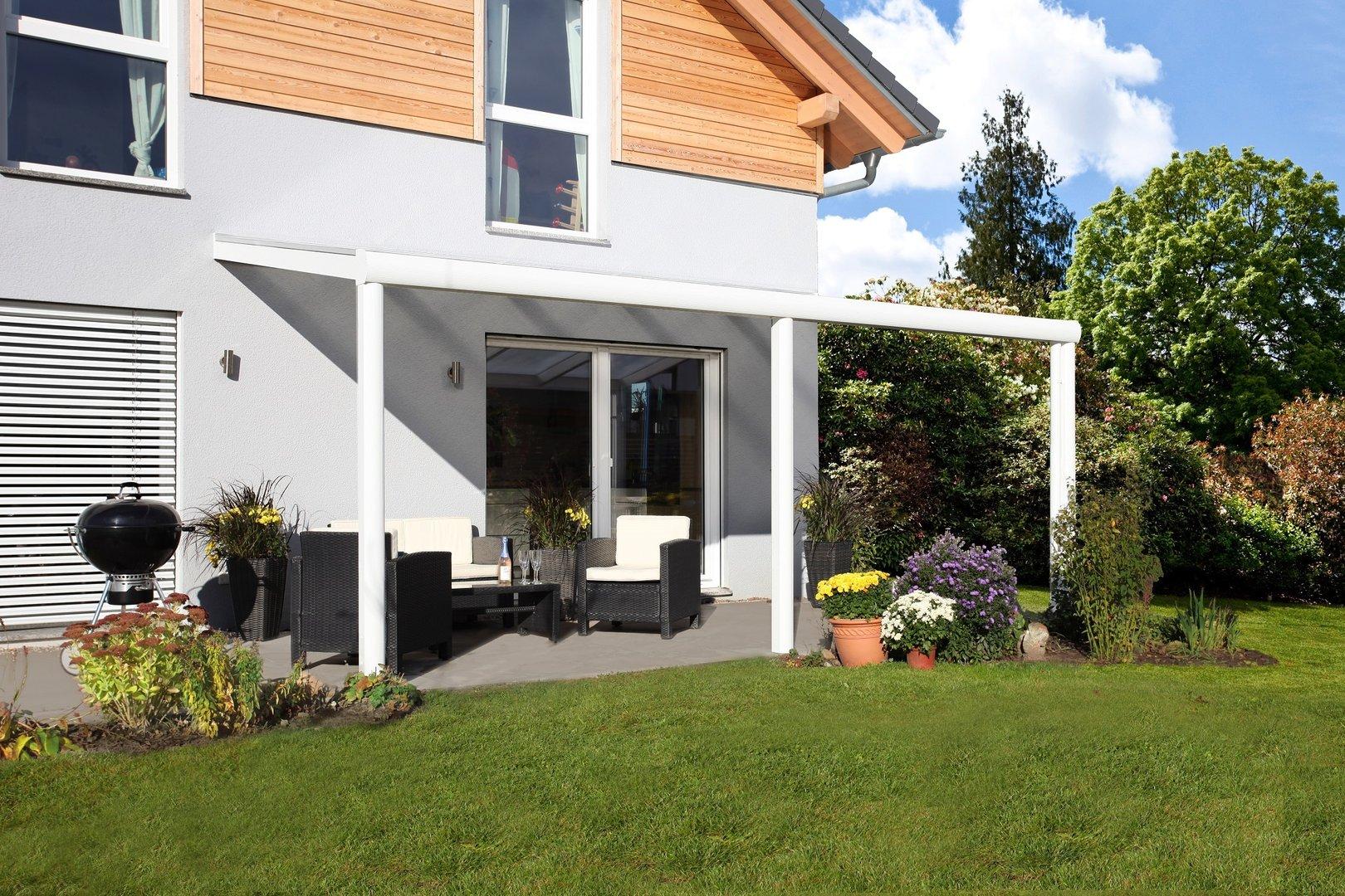 Terrassenüberdachung Garda 7 - Alu - Sams Gartenhaus Shop