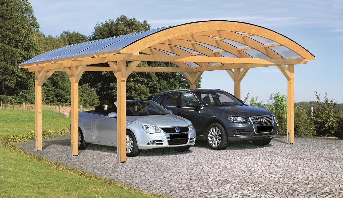 Arched Double Carport Buy Franconia Sams Garden Shed Store