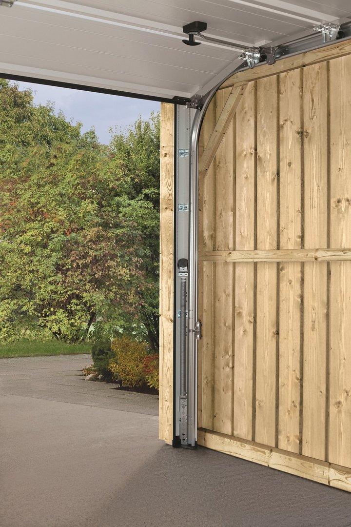 wooden garage falco 1 dl color garden house wood shop. Black Bedroom Furniture Sets. Home Design Ideas
