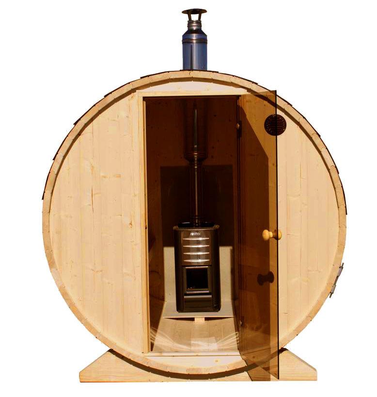 fasssauna liegend saunafass holzofen gartenhaus holz shop. Black Bedroom Furniture Sets. Home Design Ideas