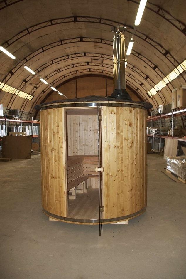 saunafass stehend ohne ofen sams gartenhaus shop. Black Bedroom Furniture Sets. Home Design Ideas