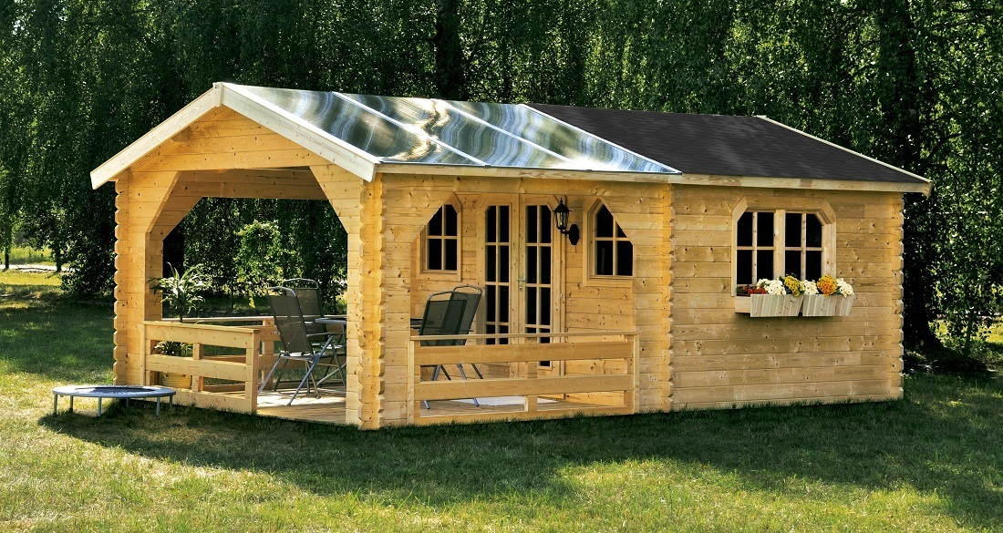 Buy Second Home For Log Cabin Online Garden House Wood