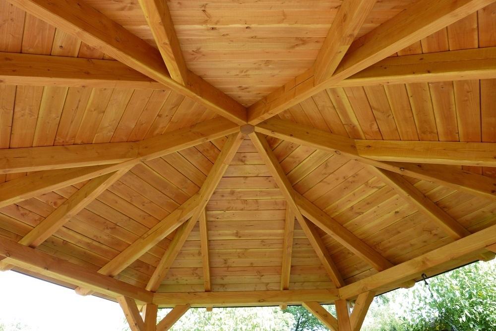 gazebo 8eck pavillon leimholz garden house wood shop. Black Bedroom Furniture Sets. Home Design Ideas