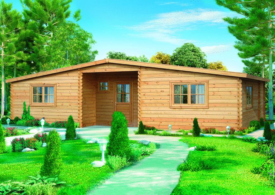 Строительство летних дачных домов.  Летний домик Сирень.