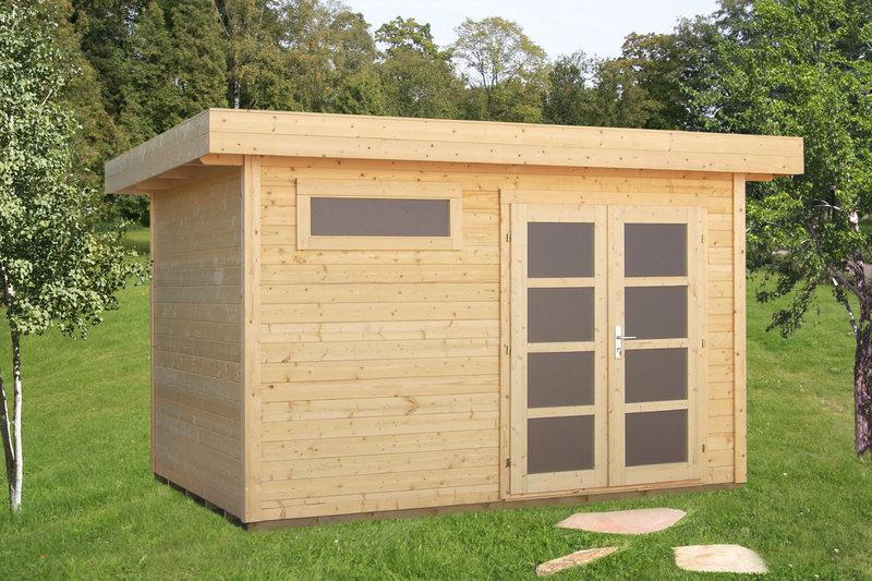 gartenhaus modern sandra sams gartenhaus shop. Black Bedroom Furniture Sets. Home Design Ideas