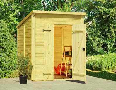 Gerätehaus günstig Modell Jana - Sams Gartenhaus Shop