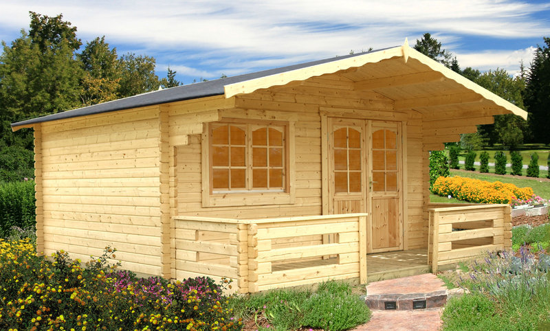 Holz - Gartenhaus - Willingen 44 - Sams Gartenhaus Shop