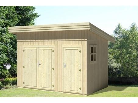 gartenhaus modern grau eva sams gartenhaus shop. Black Bedroom Furniture Sets. Home Design Ideas