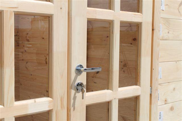 Doppeltür Holz gartenhaus doppeltür vollverglast sams gartenhaus shop
