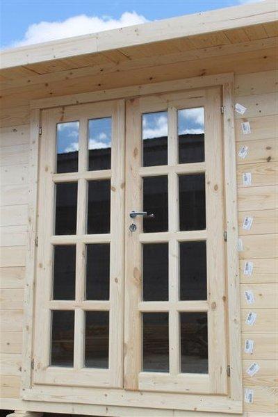 Doppeltür Holz gartenhaus doppeltür vollverglast iso sams gartenhaus shop