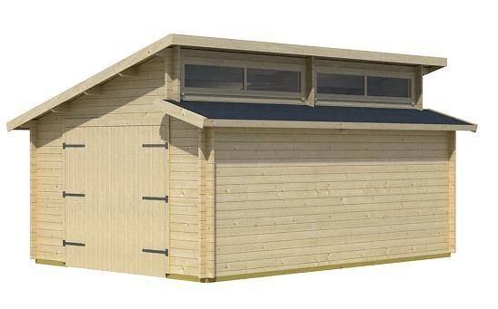 Without Modern Wood Garage Door Garden House Wood Shop