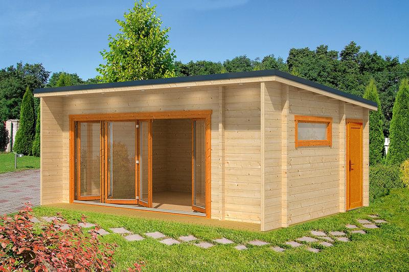 Ferienhaus wintergarten modern 70 sams gartenhaus shop for Wochenendhaus modern