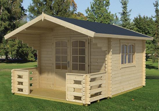gartenhaus mit spitzdach milano sams gartenhaus shop. Black Bedroom Furniture Sets. Home Design Ideas