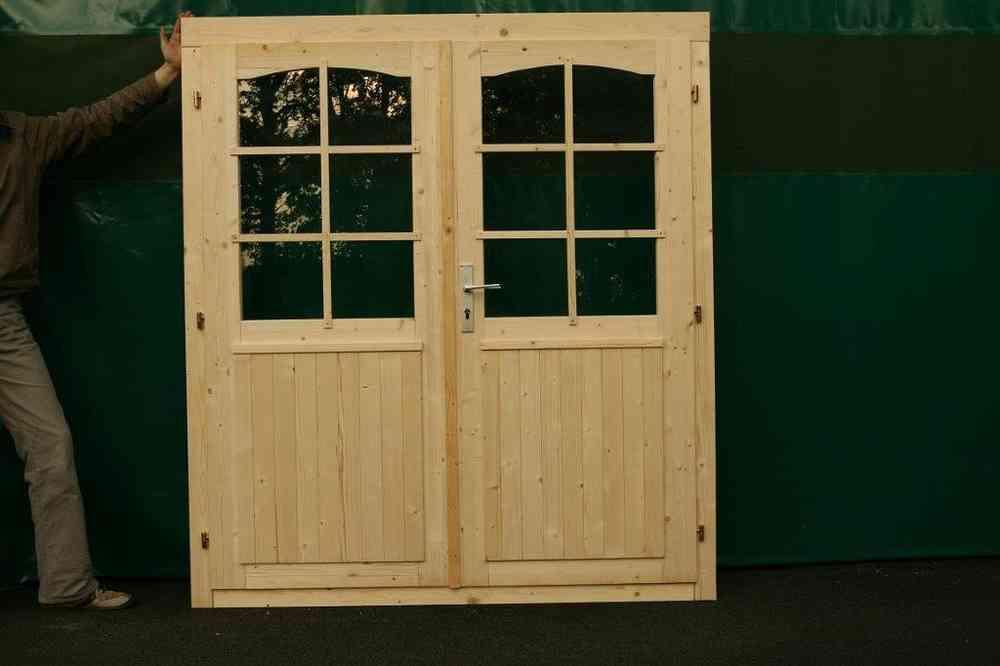 Doppeltür Holz gartenhaus doppeltür halbverglast 34 sams gartenhaus shop