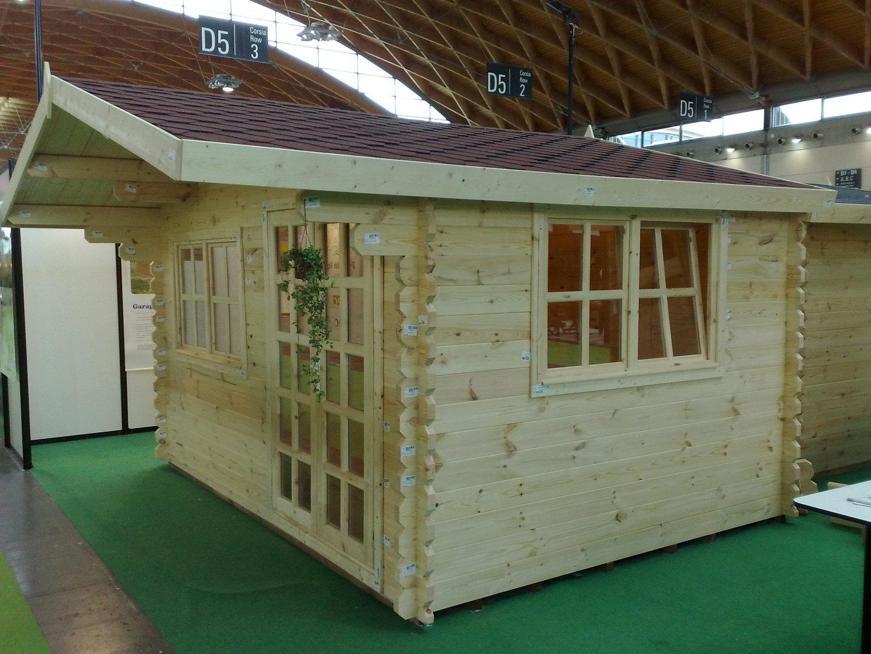 Gartenhaus   44mm Limburg   3x3m   Sams Gartenhaus Shop