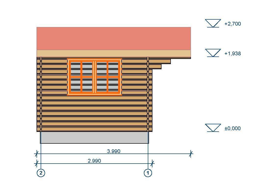 gartenhaus 44mm dettelbach 3x3m sams gartenhaus shop. Black Bedroom Furniture Sets. Home Design Ideas