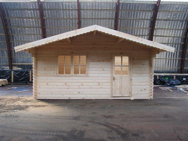 Garden house 44mm Dettelbach 4x4m   Garden House wood Shop
