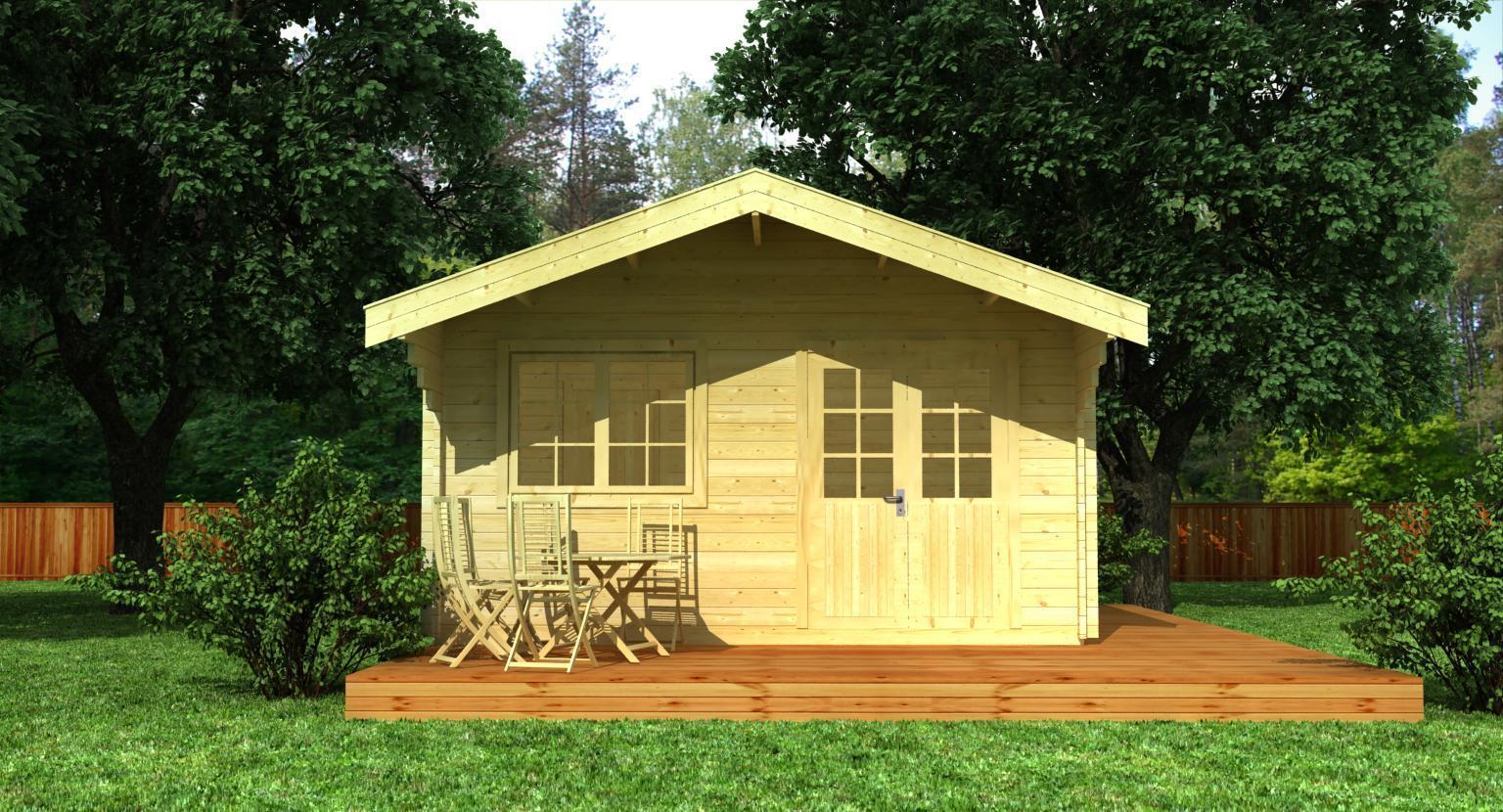 gartenhaus modell konstanz 70 sams gartenhaus shop. Black Bedroom Furniture Sets. Home Design Ideas